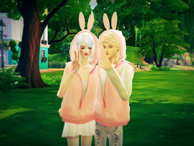 Female ears hood vest acc. at Marigold image 4419 670x503 Sims 4 Updates