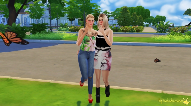 Katherine Tops, Skirts & Jeans at In a bad Romance image 4510 Sims 4 Updates