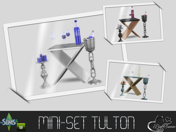 Sims 4 MiniSet Tulton by BuffSumm at TSR