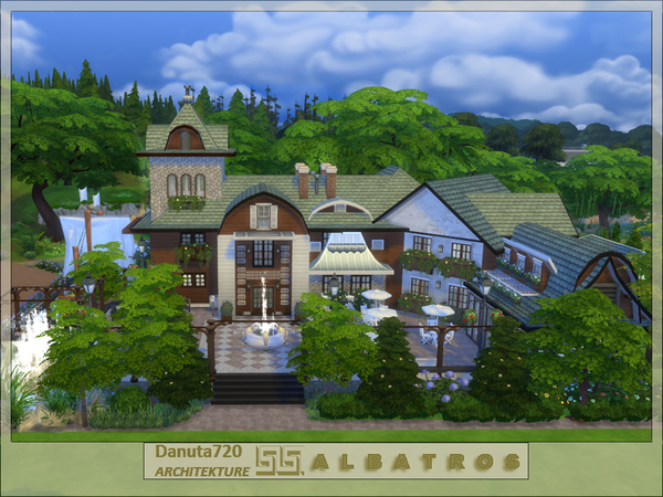 ALBATROSS house by Danuta720 at TSR image 4615 Sims 4 Updates