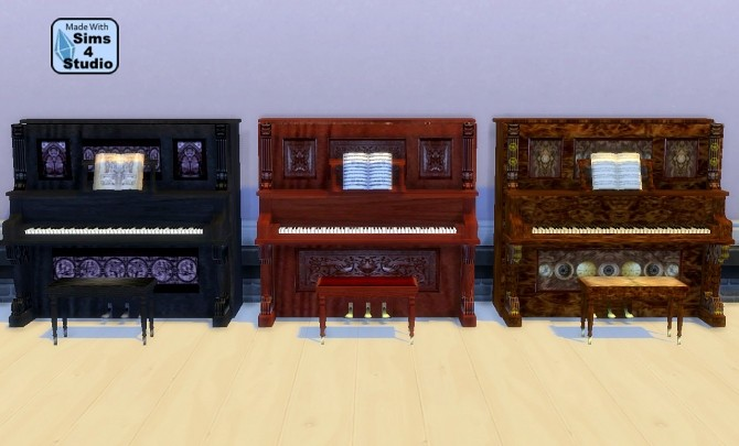 The Sims 2 Upright Saloon Piano by Esmeralda at Mod The Sims image 4616 670x405 Sims 4 Updates
