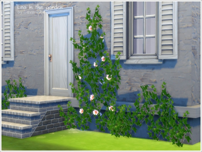 Tea in the garden garden set at Sims by Severinka image 4661 Sims 4 Updates