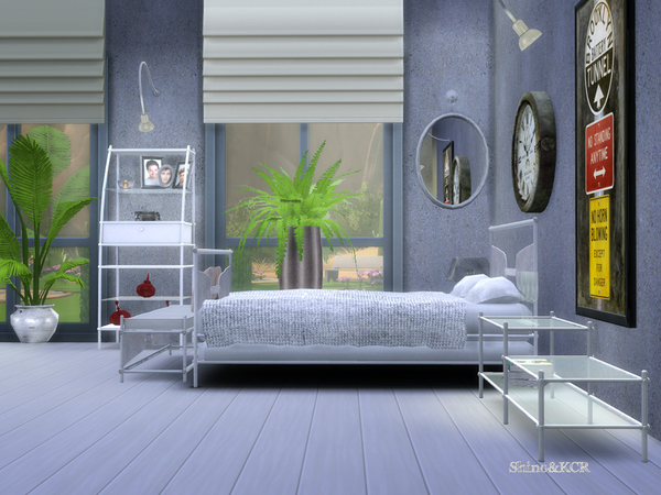 Monaco Bedroom by ShinoKCR at TSR image 47 Sims 4 Updates