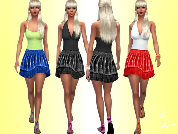 Stretch Skirt by Zuckerschnute20 at TSR image 4831 Sims 4 Updates