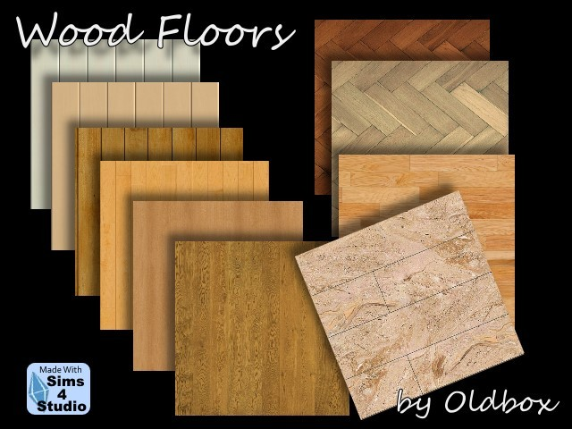 Sims 4 Terrains, floors and house by Oldbox at All 4 Sims