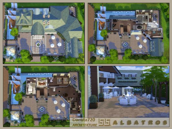 ALBATROSS house by Danuta720 at TSR image 4917 Sims 4 Updates