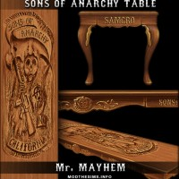 Sons of Anarchy's Table