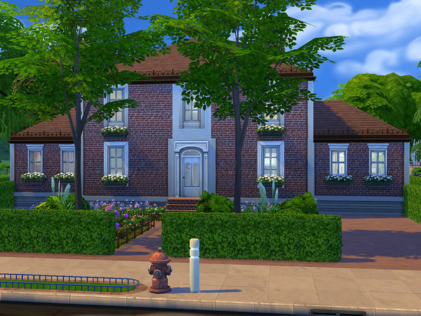 classic house by poupouss at tsr sims 4 updates