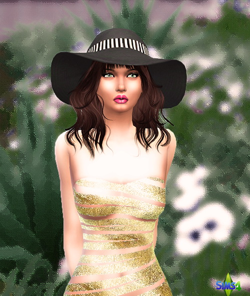 Sims 4 Marcelline Polie by Mich Utopia at Sims 4 Passions