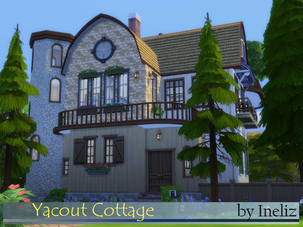 Sims 4 Yacout Cottage by Ineliz at TSR