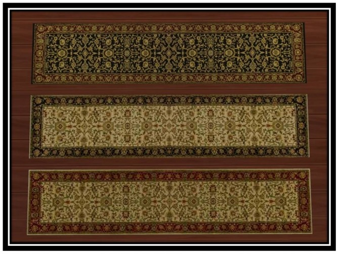 Heirloom Oriental Rugs (Runner) by Christina51 at Mod The Sims image 5120 670x503 Sims 4 Updates