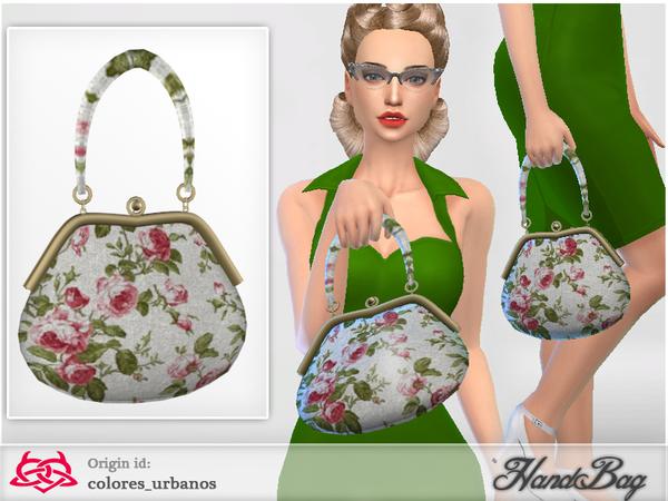Sims 4 Handbag 3 by Colores Urbanos at TSR