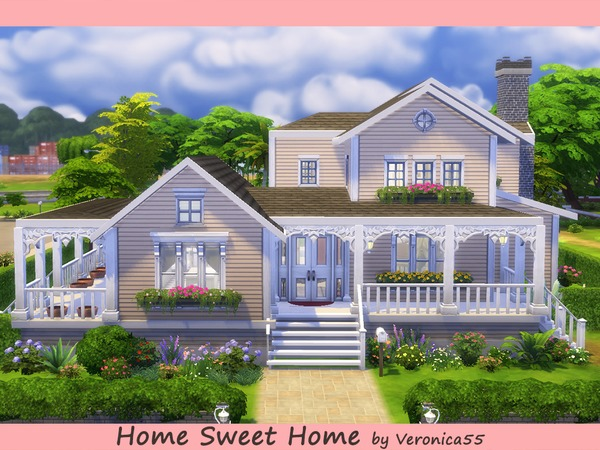 Home Sweet Home By Veronica55 At Tsr Sims 4 Updates
