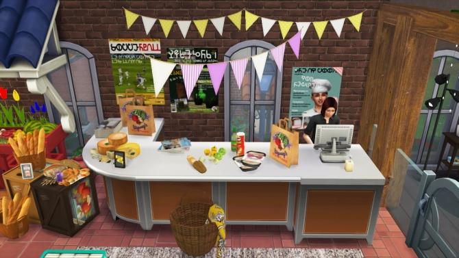 Sims 4 Grannys mini market at In a bad Romance