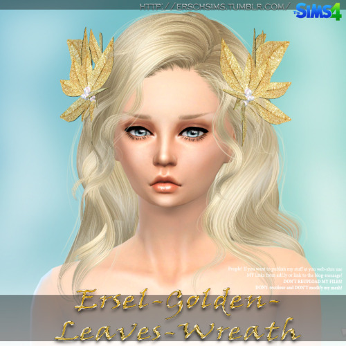 Golden Leaves by Ersel at ErSch Sims image 5310 Sims 4 Updates