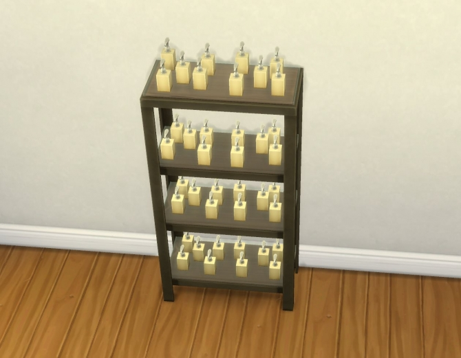 Sims 4 RAW Shelves by plasticbox at Mod The Sims