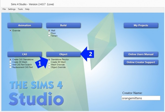Sims 4 How to make an object have transparency (add alpha) at Sims 4 Studio