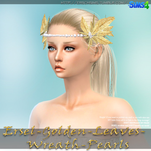 Golden Leaves by Ersel at ErSch Sims image 548 Sims 4 Updates