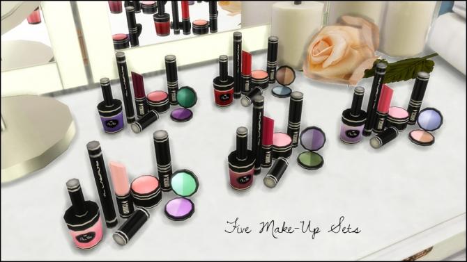 Perfume Bottles, Lipsticks, Make Up Set, Vanity Mirrors at Martine's Simblr image 5511 Sims 4 Updates