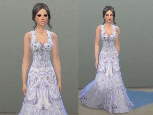Wedding dress at Tatyana Name image 5911 Sims 4 Updates