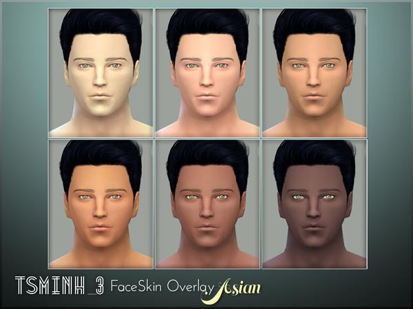 Asian FaceSkin Overlay by tsminh 3 at TSR image 5914 Sims 4 Updates