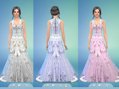 Wedding dress at Tatyana Name image 6010 Sims 4 Updates