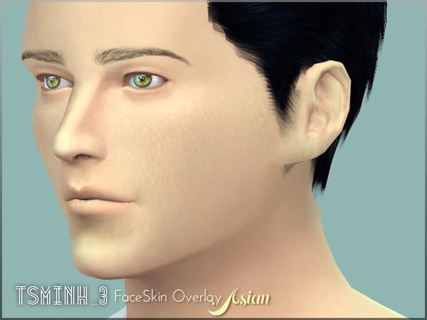 Asian FaceSkin Overlay by tsminh 3 at TSR image 6013 Sims 4 Updates