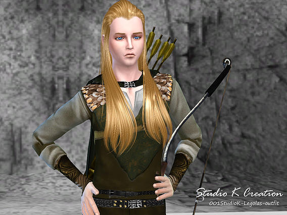 Legolas full outfit at Studio K Creation image 6041 Sims 4 Updates