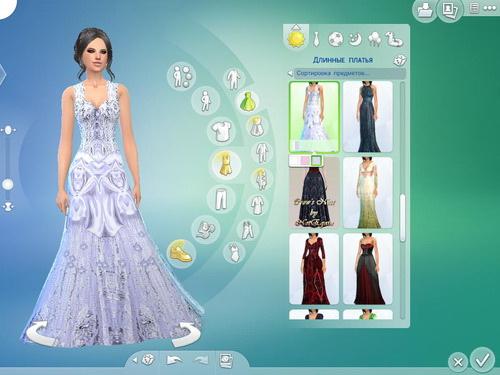 Sims 4 Wedding dress at Tatyana Name