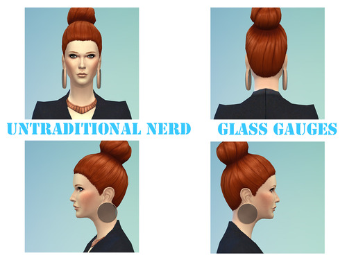 Sims 4 Gauges L size Collection at Untraditional NERD