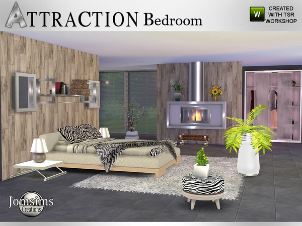 Attraction bedroom by jomsims at tsr image 615 sims 4 updates
