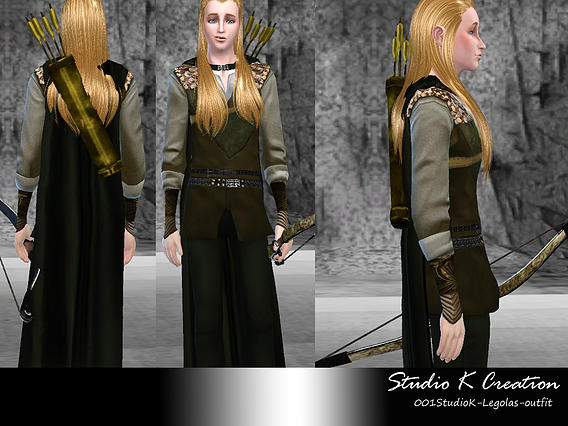 Legolas full outfit at Studio K Creation image 6181 Sims 4 Updates