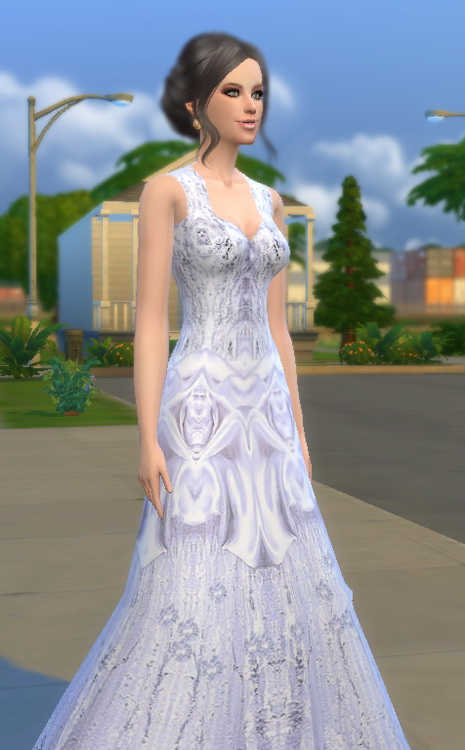 Wedding dress at Tatyana Name image 6213 Sims 4 Updates