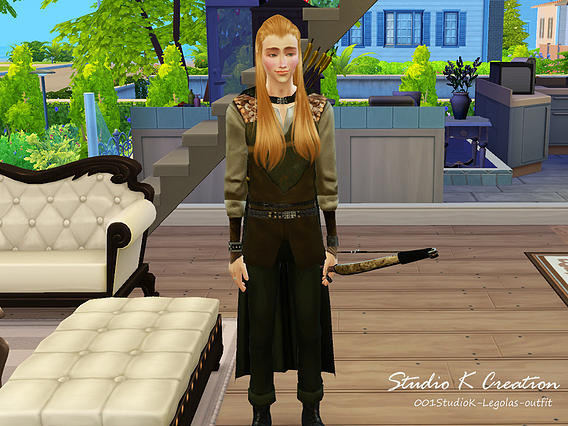 Legolas full outfit at Studio K Creation image 6251 Sims 4 Updates