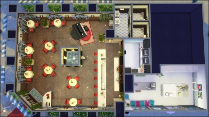 Restaurant sims updates best ts cc downloads