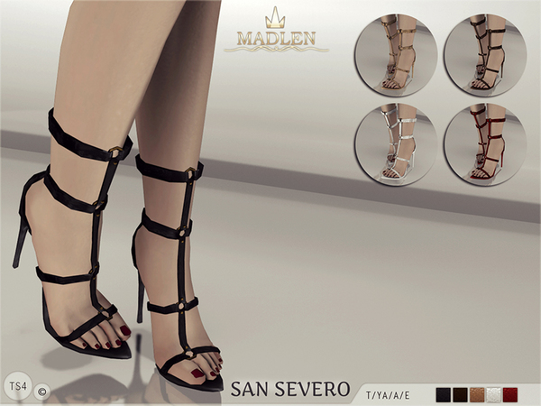 Madlen San Severo Shoes by MJ95 at TSR image 637 Sims 4 Updates