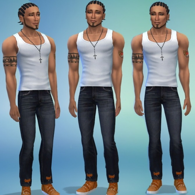 DAngelo by Selena at Sims 4 Celebrities image 6414 670x670 Sims 4 Updates