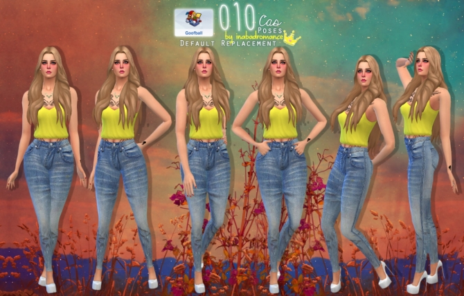 010 CAS poses at In a bad Romance image 662 Sims 4 Updates