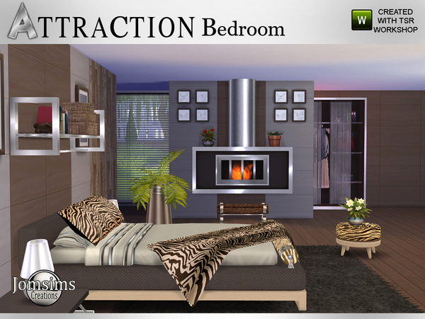 Tsr furniture bedroom attraction bedroom by jomsims