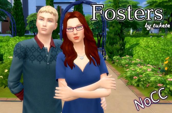 Jen Amp Zack Foster At Tukete 187 Sims 4 Updates