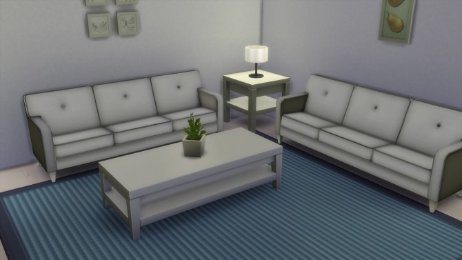 Sims 4 Sofa LE Conversion by edwardianed at Mod The Sims
