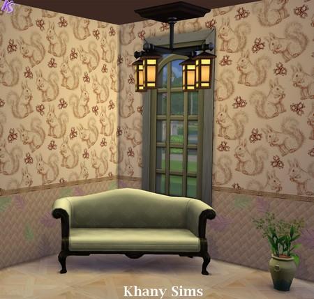 Wood Walls (paneling) at Khany Sims image 670 Sims 4 Updates