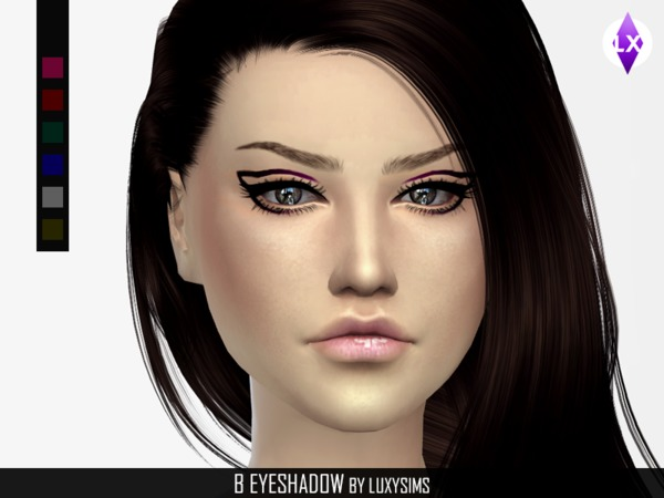 Eyeshadow B by LuxySims3 at TSR image 6712 Sims 4 Updates
