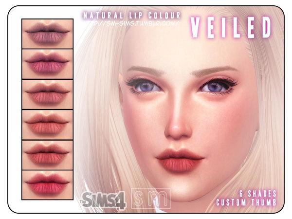 Veiled Natural Lips by Screaming Mustard at TSR image 677 Sims 4 Updates