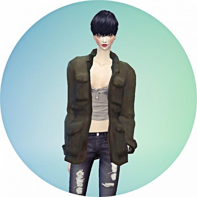 Sims 4 Field jacket bracelet ACC at Marigold