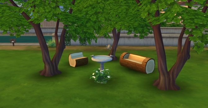 Sims 4 Fake shadows terrain paint! by simshout at Mod The Sims