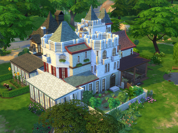 The impossible University by Leander Belgraves at TSR image 7 Sims 4 Updates