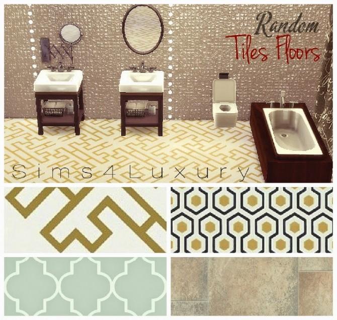 Random Tiles floors at Sims4 Luxury » Sims 4 Updates