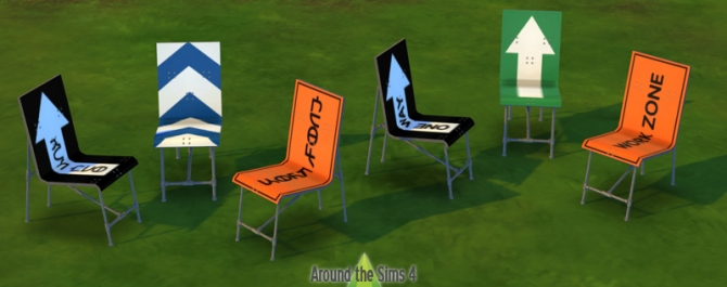 Road Sign outdoor furniture at Around the Sims 4 image 7214 Sims 4 Updates