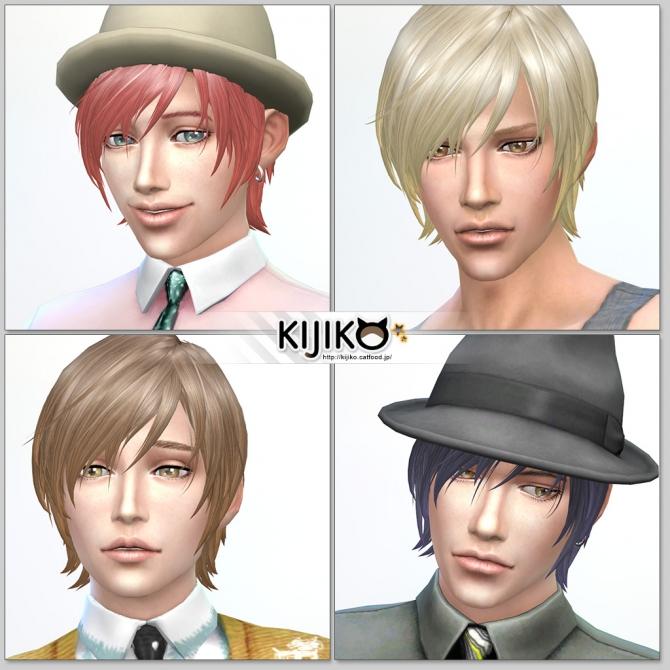 Round Bob (Male) at Kijiko image 7510 Sims 4 Updates